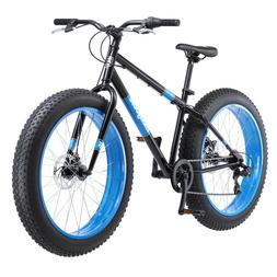 Fat Tire Bicycle Adult Mens Bike 7 Speed 26 Inch Wheels Dual