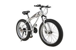 Fat Tire Bike Snow and Grass Sand Bike MTB Shark 26 Inch 21