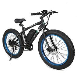 "ECOTRIC Fat Tire Electric Bike Beach Snow Bicycle 26"" 4.0 in"