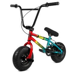 "Fatboy Mini BMX Stunt  Smoke Bomb Red Yellow Multi 10"" Slick"