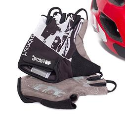 Fingerless Bike Gloves for Long Road Rides with Any Bicycle,