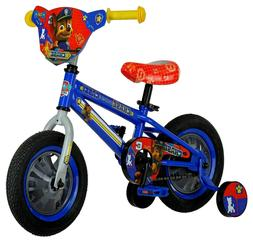 FIRST Kids Bike 2 - 4 YRS Nickelodeon Paw Patrol Chase 12 in
