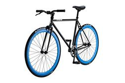 Pure Fix Original Fixed Gear Single Speed Bicycle, Bravo Bla