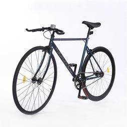700C Fixed Gear Bike Single Speed Track Bike Fixie Bicycle R