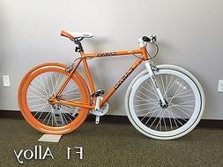 Caraci Fixed Gear F1 Alloy Bike Unisex alloy bicycles bike F