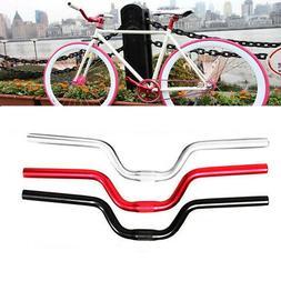 Fixed Gear Fixie Bike Bicycle Cycling Alloy Riser Handlebar
