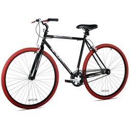 Kent Fixie Bike 700C Black Red Men's Single Speed Sport City