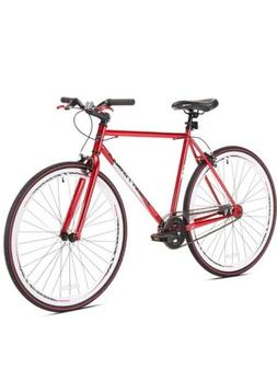 Kent Fixie Bike 700C Red Men's Flip Flop Hub Cruiser City