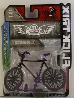 Flick Trix SE Racing Lager Fixie Finger Bike - Black with Pu
