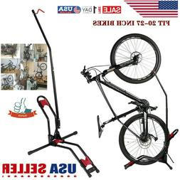 Floor Parking 27in Bike Bicycle Stand Rack Mount Garage Vert