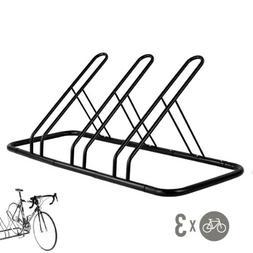 CyclingDeal 6 Bike Floor Parking Rack Storage Stand Bicycle