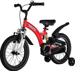 Royalbaby Flying Bear Full Suspension Kids Bike Perfect Gift