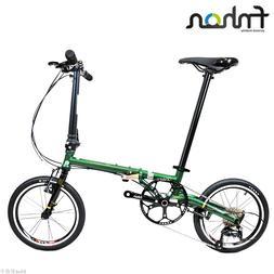 """Fnhon Gust CR-MO Steel Folding <font><b>Bike</b></font> 16"""""""