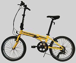 VEVOR Foldable Mini Bike 8 Inch Folding Bike Aluminum Adjust