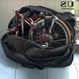 Folding Bicycle Mountain Bike Carry Bag Travel Carrier Trans