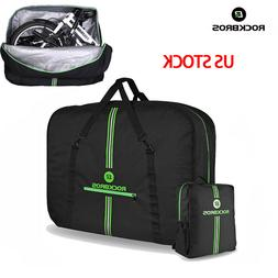 ROCKBROS Folding Bike Carrier Bags With Storage Bag High Cap