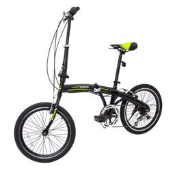 "20"" Folding Bike Foldable Mountain Bike Shimano 6 Speed Bike"