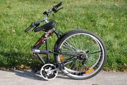 "Columba 26"" Folding Bike w. Shimano 18 Speed Black"