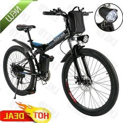 ANCHEER Power Plus Electric Mountain Bike 26'' 36V 8Ah Lithi