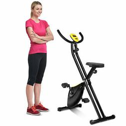 Folding Exercise Bike Home Cycling Magnetic Trainer Fitness