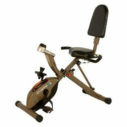 New Folding Recumbent Exercise Bike, 400 lbs, Fitness Exerci