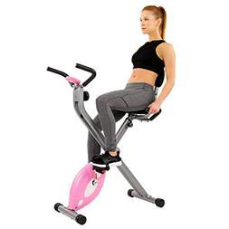 Sunny Health & Fitness Magnetic Folding Recumbent Bike Exerc
