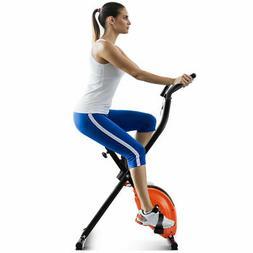 Goplus Folding X-Shape Exercise Bike Cardio Workout Cycling