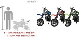 FREE SHIPPING KIDS 49cc 50cc 2 STROKE GAS MOTOR DIRT MINI BI