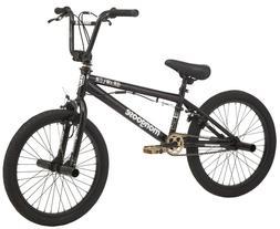 "Mongoose Freestyle BMX Bike Brawler 20"" Wheels Black Gold"