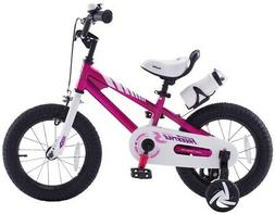Royalbaby Freestyle Fuschia 16 in. Kid's Bicycle