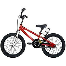 "RoyalBaby Freestyle Red 18 inch Kid's Bicycle-""Brand New"""