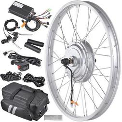 "36V 750W 24"" Front Tire Electric Bicycle e-Bike Conversion K"