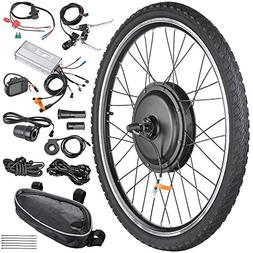 "AW 26""x1.75"" Front Wheel Electric Bicycle Motor Kit 48V 1000"
