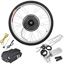 36v 500w 26 Inch Front Wheel Electric Bicycle Motor Conversi