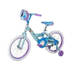 "Brand New Frozen Princess Bike 18"" Training Wheels Bicycle C"