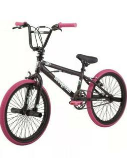 Mongoose FSG BMX Bike, 20-inch wheels, single speed, black /