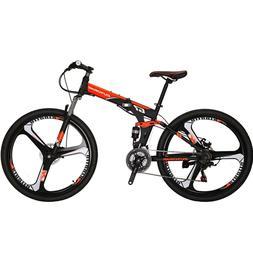 full suspension folding mountain bike 27 5