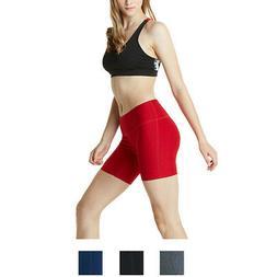 "Tesla FYP11 Women's 7"" Bike Running Yoga Compression Shorts"