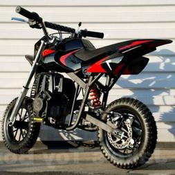 Gas Powered Kids Mini Dirt Bike 40cc Pit Bike - Black & Red