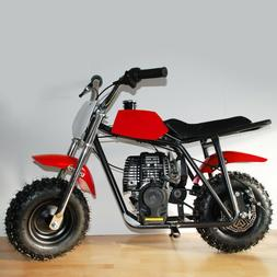 Gas Powered Mini Bike - 40cc Regular Gas Off-Road Dirt Tires