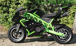 Gas powered mini pocket bike small mini bike 50cc 2-stroke G