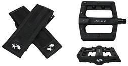 Fyxation Gates Slim Pedal Strap Kit, Black
