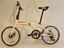 Origami Gazelle 20 Inch Lightweight Aluminum Folding Bicycle