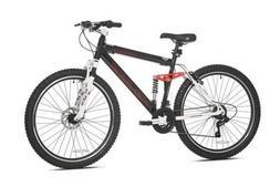 """26"""" Genesis V2100 Men's Mountain Bike with Full Suspension,"""