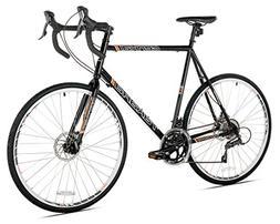 Takara Genkai Gravel 700c Cyclocross Bike, Black, 63.5cm/X-L