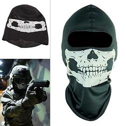 Ghost Full Face Skull Mask for Bicycle Cosplay Motorbike War