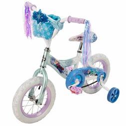 Huffy Disney Frozen Girl's Bike 12 inch, Blue NEW