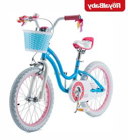 Royalbaby 18 Inch Bicycle for 5-9 Old Girls Bike with Basket
