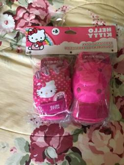 Hello Kitty Girls 3+ Protective Gear Equipment Set/ Bike Or