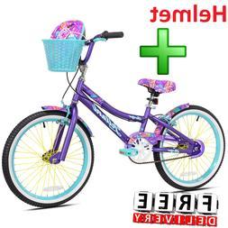 Girls Bike 20 Inch Bicycling Speed BMX Children Kid Basket P